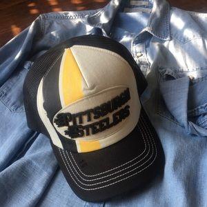 Pittsburgh Steelers Vintage Series Trucker Hat